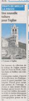 tailleur de pierre - RESTAURATION DE COUVERTURE EN TUILES